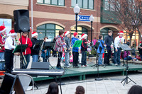 Christmas Tree Lighting - Market Square December 1 2012