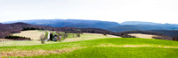 Youghaganey Valley from Hagan House Panorama